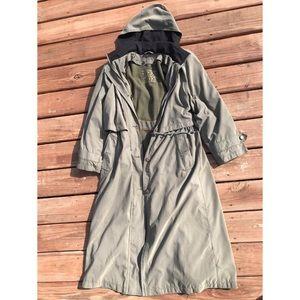 BOGO VTG fleet street long trench coat